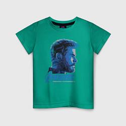 Футболка хлопковая детская Thor: Avengers цвета зеленый — фото 1