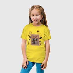 Футболка хлопковая детская Incredibles цвета желтый — фото 2