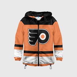 Ветровка с капюшоном детская Philadelphia Flyers цвета 3D-черный — фото 1