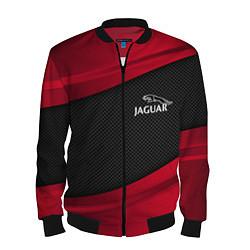 Бомбер мужской Jaguar: Red Sport цвета 3D-черный — фото 1