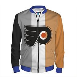 Бомбер мужской Philadelphia Flyers цвета 3D-синий — фото 1