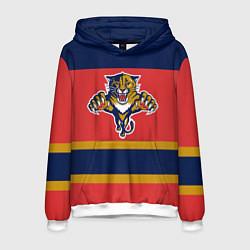 Толстовка-худи мужская Florida Panthers цвета 3D-белый — фото 1