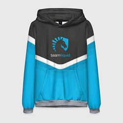 Толстовка-худи мужская Team Liquid Uniform цвета 3D-меланж — фото 1