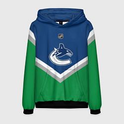 Толстовка-худи мужская NHL: Vancouver Canucks цвета 3D-черный — фото 1