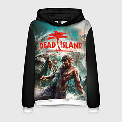 Толстовка-худи мужская Dead Island цвета 3D-белый — фото 1