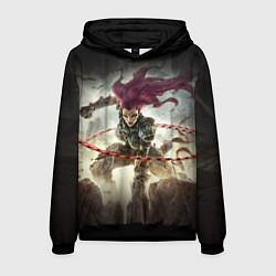 Толстовка-худи мужская Darksiders Warrior цвета 3D-черный — фото 1