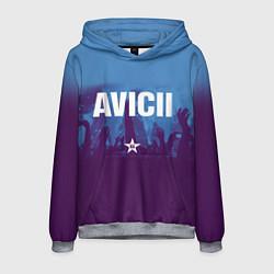 Толстовка-худи мужская Avicii Star цвета 3D-меланж — фото 1