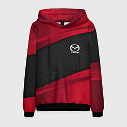 Толстовка-худи мужская Mazda: Red Sport цвета 3D-черный — фото 1
