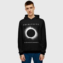 Толстовка-худи мужская Architects: Black Eclipse цвета 3D-черный — фото 2