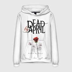 Толстовка-худи мужская Dead by April цвета 3D-белый — фото 1