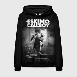 Толстовка-худи мужская Eskimo Callboy цвета 3D-черный — фото 1