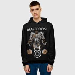 Толстовка-худи мужская Mastodon цвета 3D-черный — фото 2
