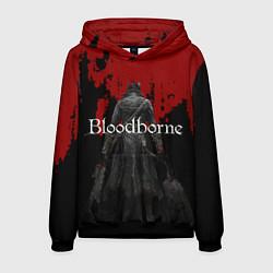 Толстовка-худи мужская Bloodborne цвета 3D-черный — фото 1