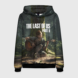 Толстовка-худи мужская The Last of Us part 2 цвета 3D-черный — фото 1