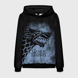 Толстовка-худи мужская Stark House GoT цвета 3D-черный — фото 1