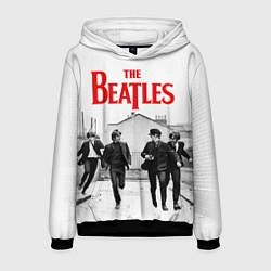 Толстовка-худи мужская The Beatles: Break цвета 3D-черный — фото 1