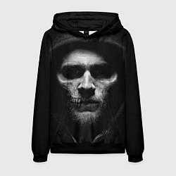 Толстовка-худи мужская Sons Of Anarchy цвета 3D-черный — фото 1
