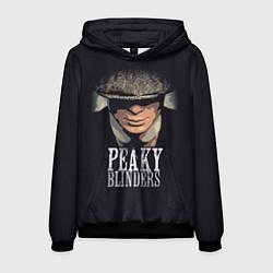 Толстовка-худи мужская Peaky Blinders цвета 3D-черный — фото 1