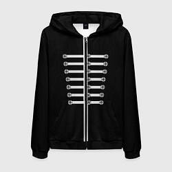 Толстовка 3D на молнии мужская My Chemical Romance цвета 3D-черный — фото 1