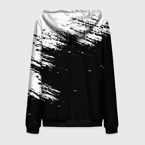 Мужская толстовка на молнии ВЕДЬМАК / 3D-Черный – фото 2