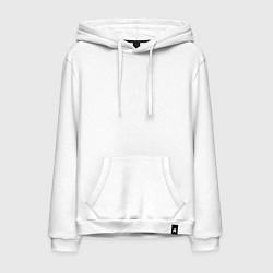 Толстовка-худи хлопковая мужская Machine Head MCMXCII цвета белый — фото 1