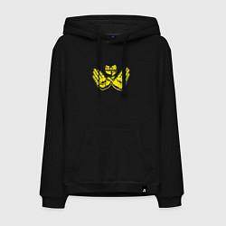 Толстовка-худи хлопковая мужская Wu-Tang Hands цвета черный — фото 1