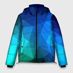 Куртка зимняя мужская Fight Polygon цвета 3D-черный — фото 1