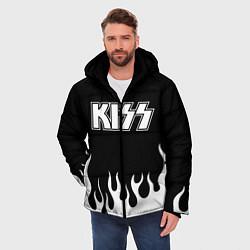 Куртка зимняя мужская Kiss цвета 3D-черный — фото 2