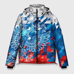 Куртка зимняя мужская Россия цвета 3D-черный — фото 1