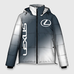 Куртка зимняя мужская LEXUS ЛЕКСУС цвета 3D-черный — фото 1