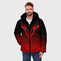 Куртка зимняя мужская BERSERK БЕРСЕРК цвета 3D-черный — фото 2