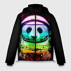 Куртка зимняя мужская Панда космонавт цвета 3D-черный — фото 1