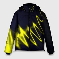 Куртка зимняя мужская Молния цвета 3D-черный — фото 1