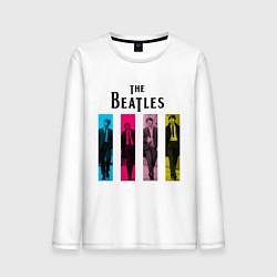 Мужской лонгслив Walking Beatles