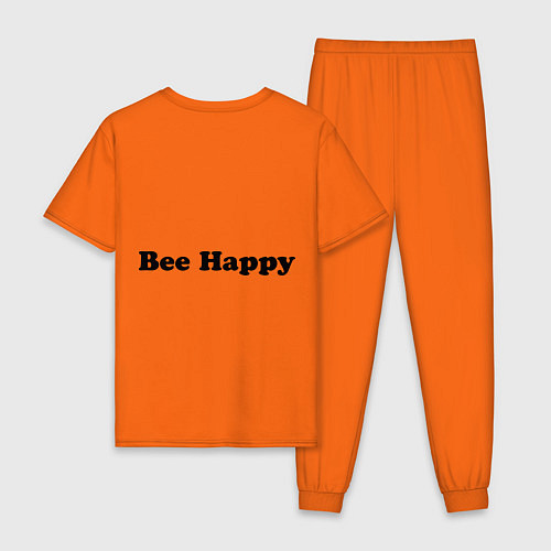 Мужская пижама Bob Marley: Don't worry / Оранжевый – фото 2