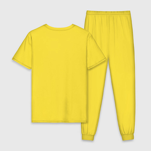 Мужская пижама Misfits / Желтый – фото 2