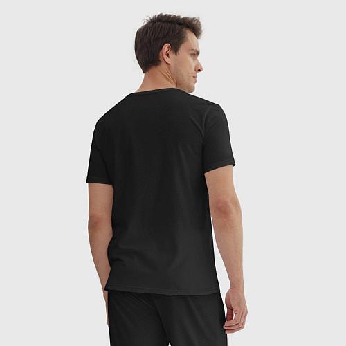 Мужская пижама Misfits Skeletons / Черный – фото 4