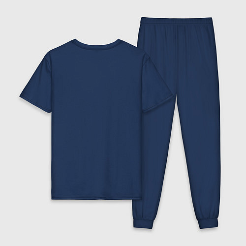Мужская пижама Гарри Поттер: Букля / Тёмно-синий – фото 2