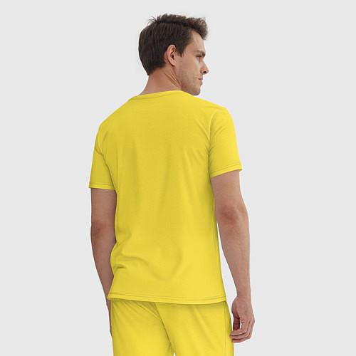 Мужская пижама Хомячок / Желтый – фото 4