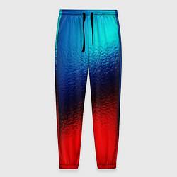Мужские брюки Синий и красный