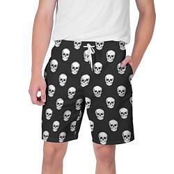 Шорты на шнурке мужские BFMV: Skulls цвета 3D-принт — фото 1