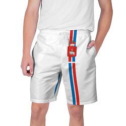 Шорты на шнурке мужские Пермский край цвета 3D — фото 1