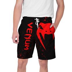 Шорты на шнурке мужские VENUM цвета 3D-принт — фото 1