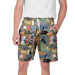 Шорты на шнурке мужские Legendary цвета 3D-принт — фото 1