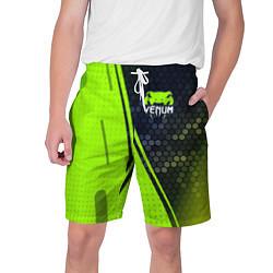 Шорты на шнурке мужские VENUM ВЕНУМ цвета 3D-принт — фото 1