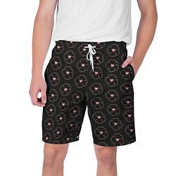 Шорты на шнурке мужские Белоснежка цвета 3D-принт — фото 1