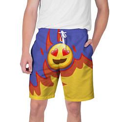 Шорты на шнурке мужские Ты горишь как огонь v1 цвета 3D-принт — фото 1