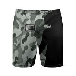 Шорты спортивные мужские PUBG: Camo Shadow цвета 3D — фото 1