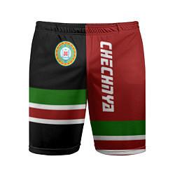 Шорты спортивные мужские Chechnya, Russia цвета 3D-принт — фото 1