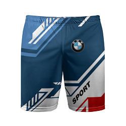 Шорты спортивные мужские BMW SPORT цвета 3D — фото 1